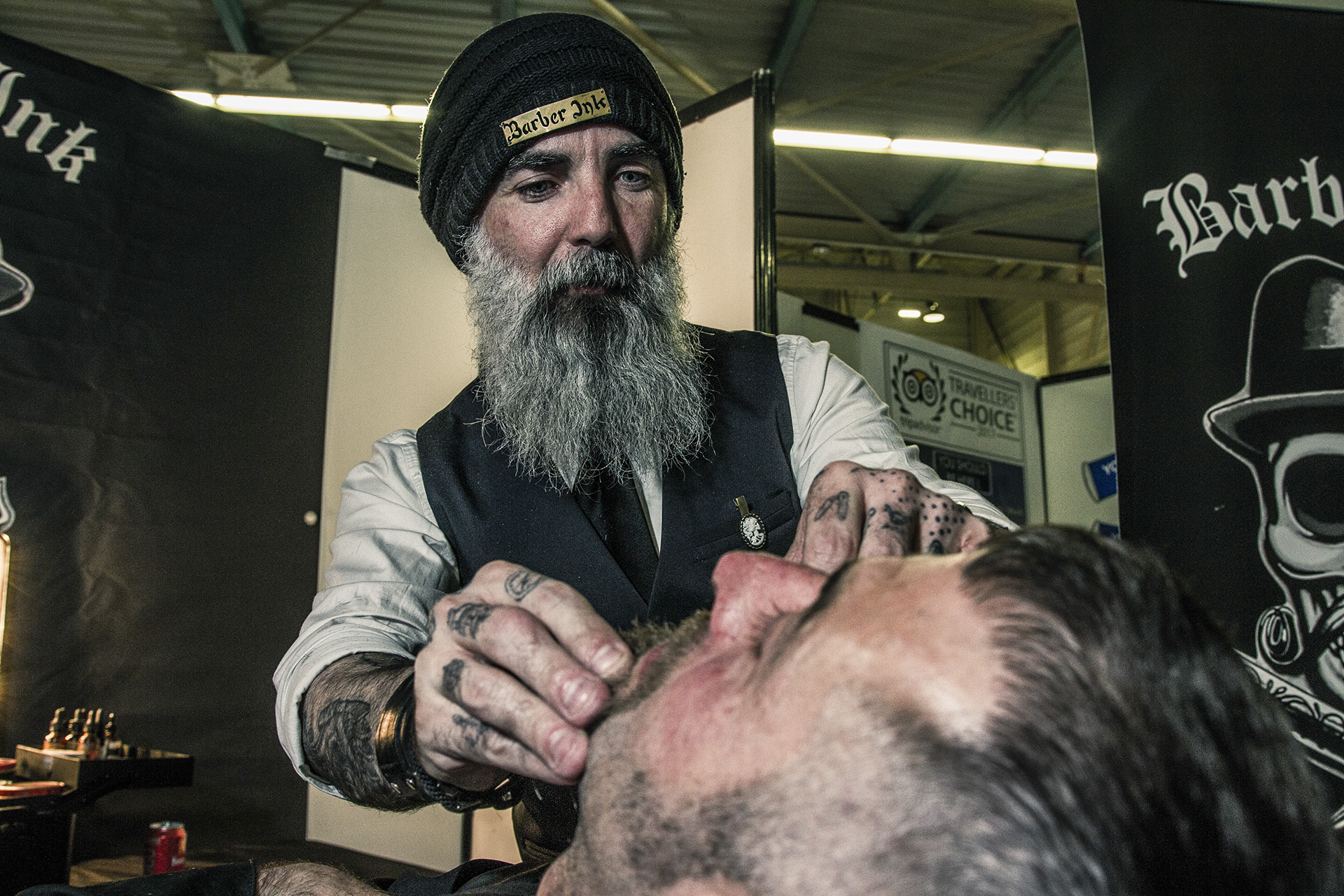 photo corporate barbier
